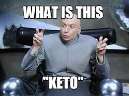 Austin Powers and KETO quote