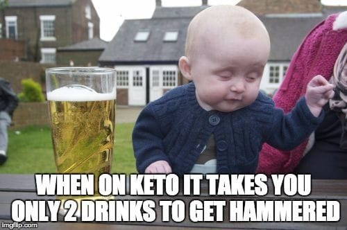 KETO and Alcohol