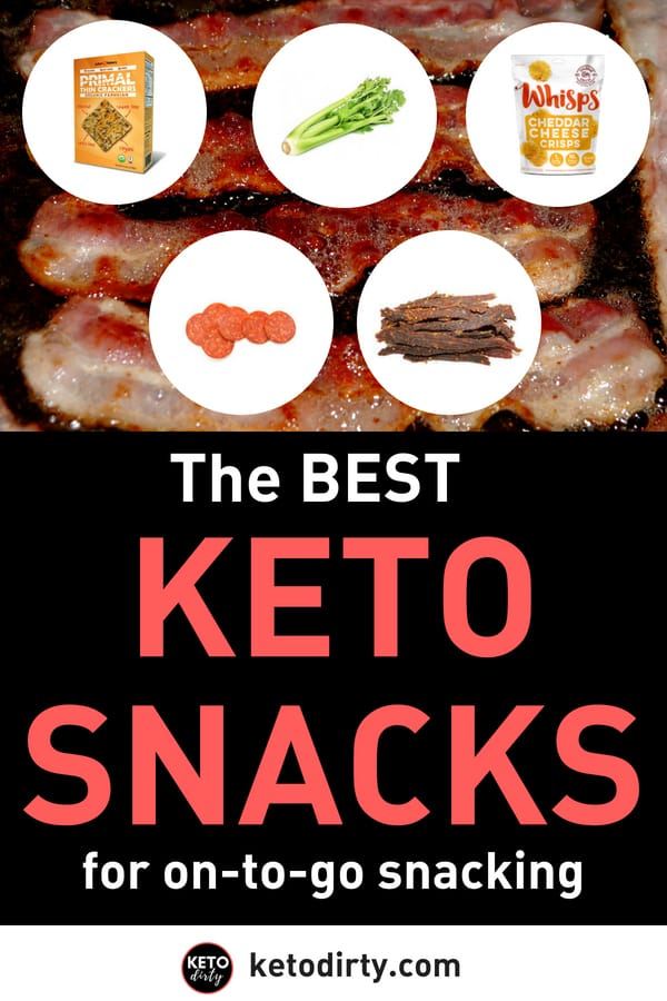 Keto Diet Snacks - Best Low Carb Treats