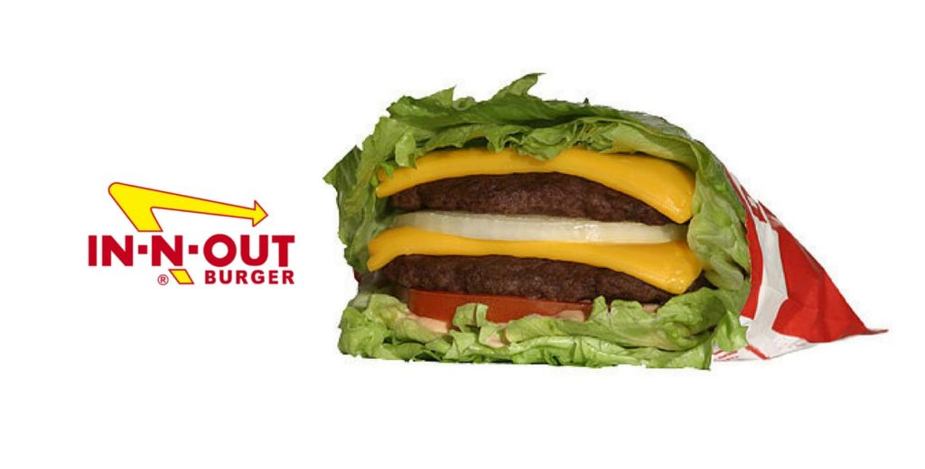 Protein Style Burger Keto Friendly at In N Out