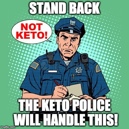 keto police meme