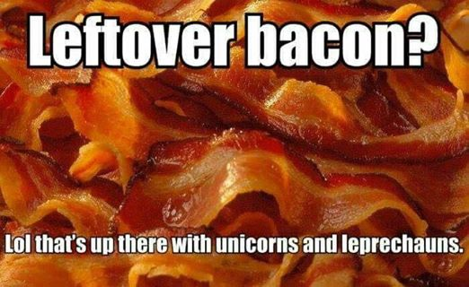 leftover-bacon