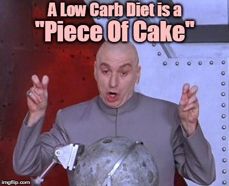 Dr Evil Says It's a Piece of Cake