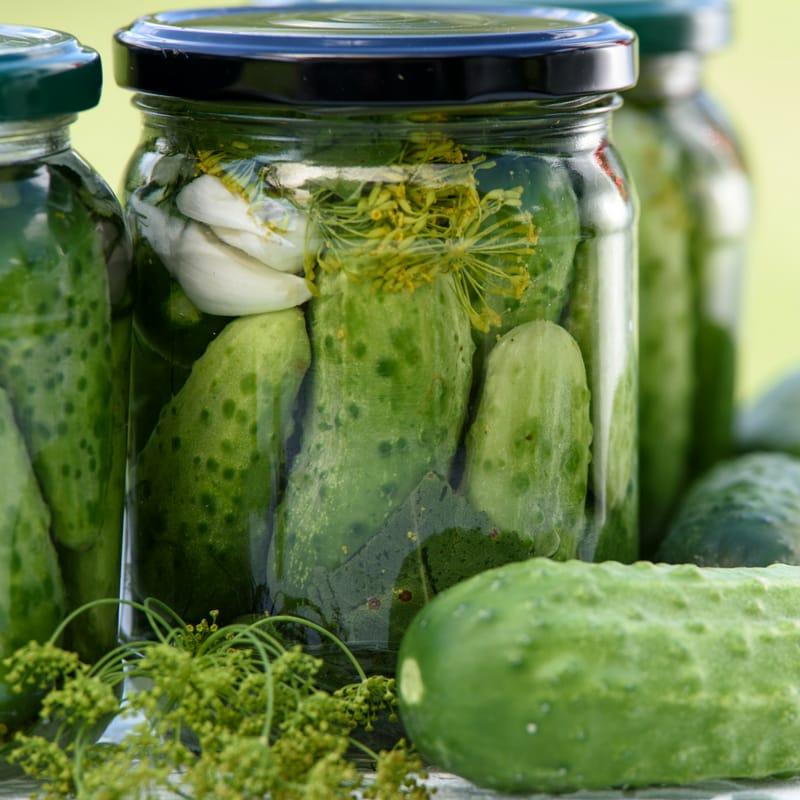 pickles keto snack