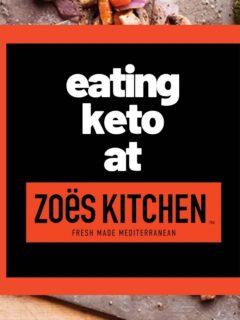 zoes kitchen keto menu low carb fast food