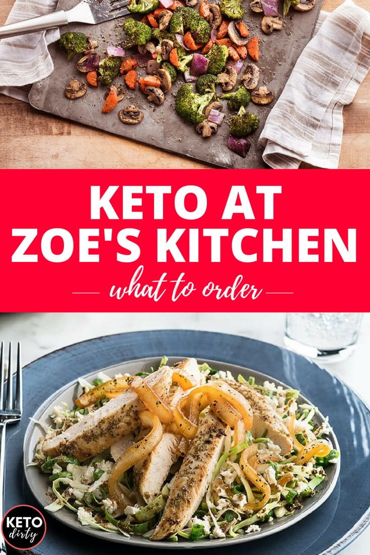 Zoes Kitchen Menu Keto Options Dirty Roasted Vegetables Protein Power