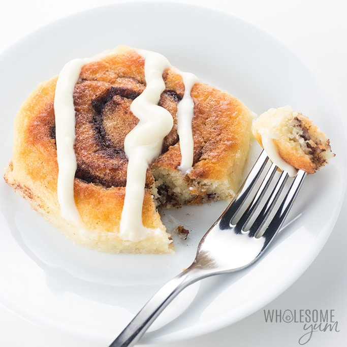 cinnamon rolls keto recipe