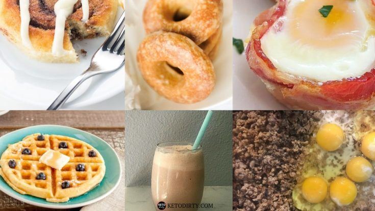 40+ KETO Breakfast Ideas - What to Eat in the Morning