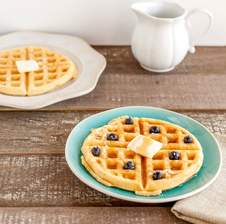 buttermilk waffles low carb butter