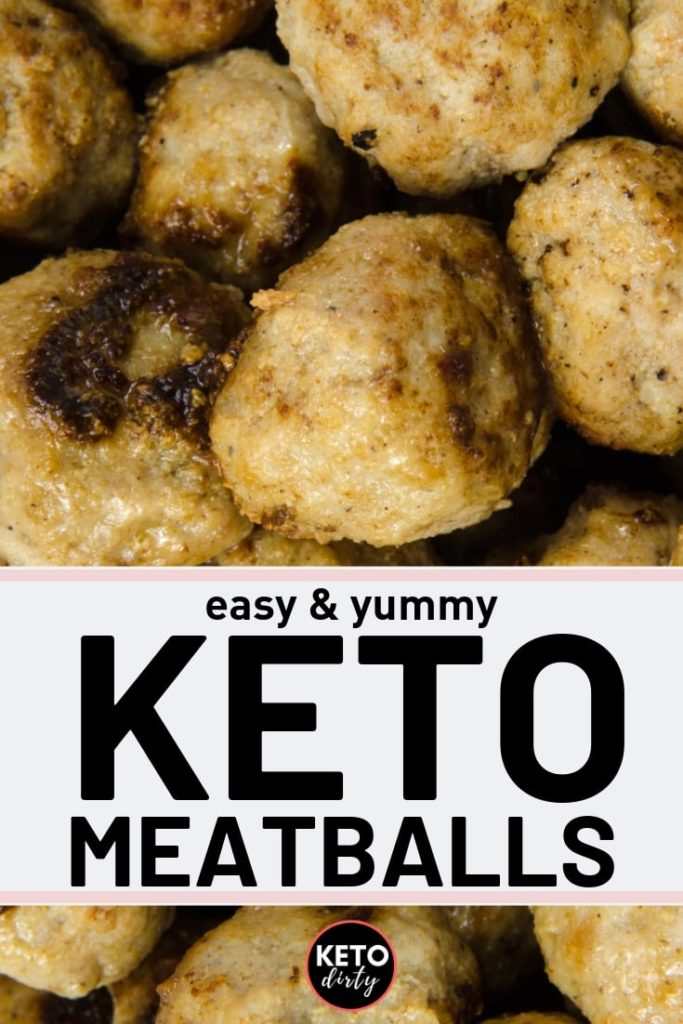 easy and yummy keto meatballs