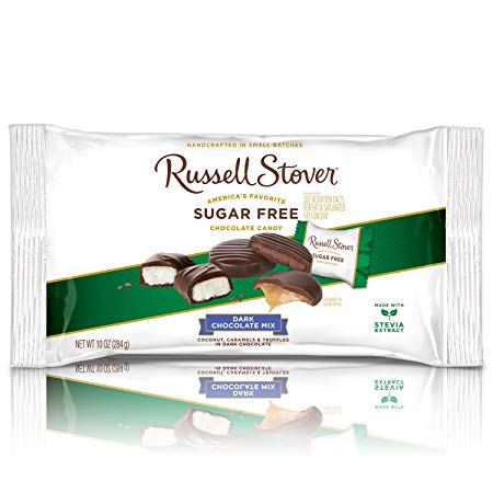 Russell Stover Dark Chocolate Assorted Sugar Free Candies