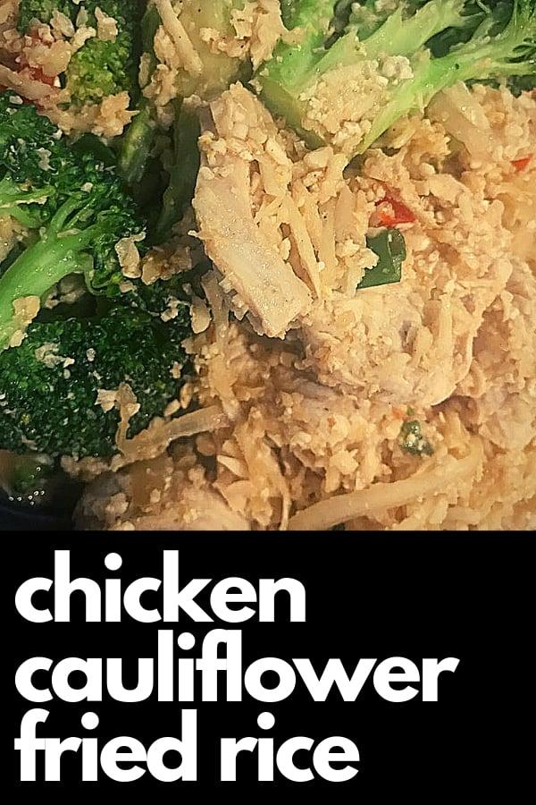 keto chicken cauliflower fried rice at pei wei asian diner