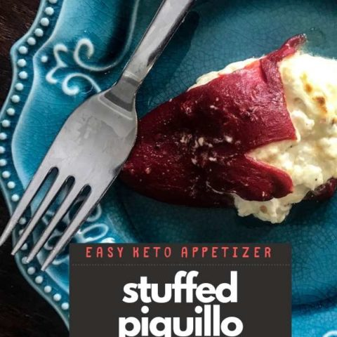 Keto Stuffed Piquillo Peppers