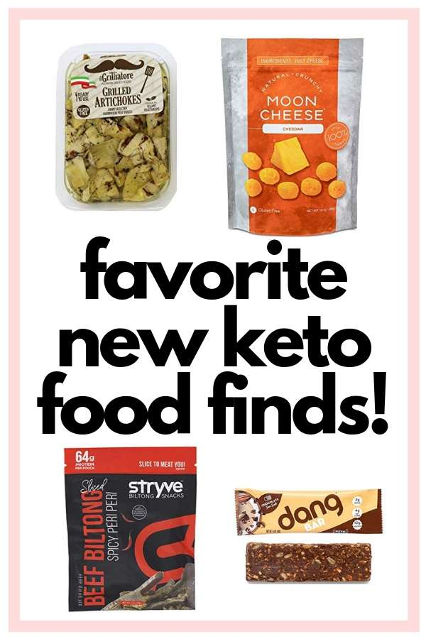 favorite new keto food finds