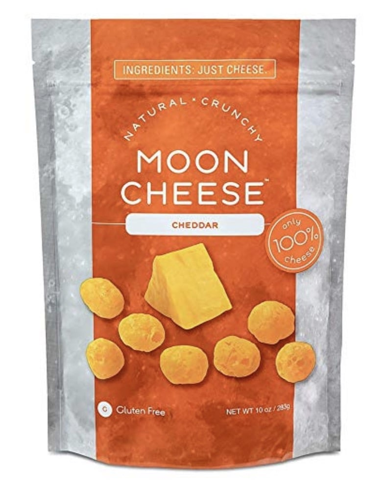 Moon Cheese Cheddar Keto Snack