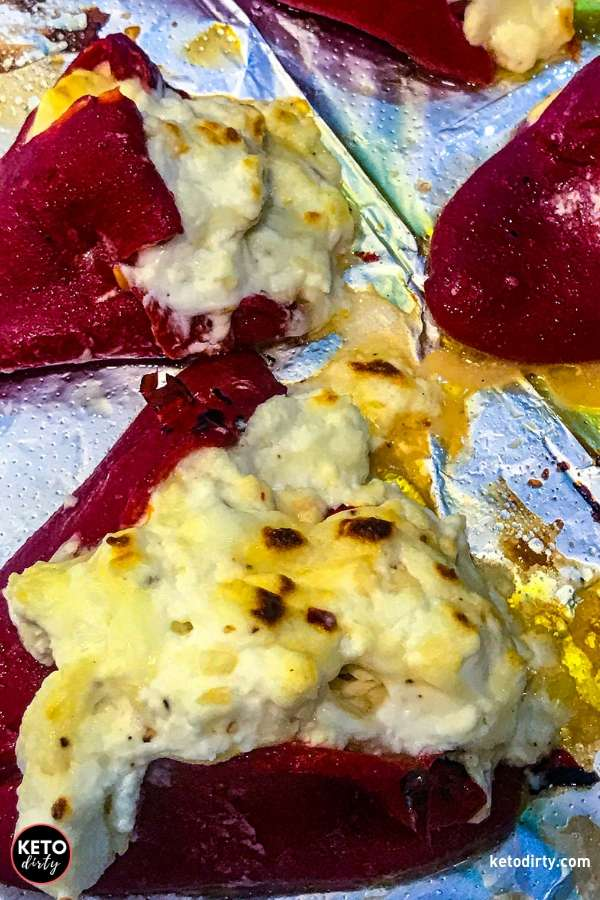 keto cheese stuffed peppers
