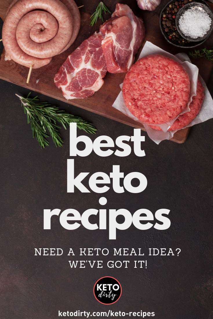 best keto recipes and low carb recipes - meal ideas