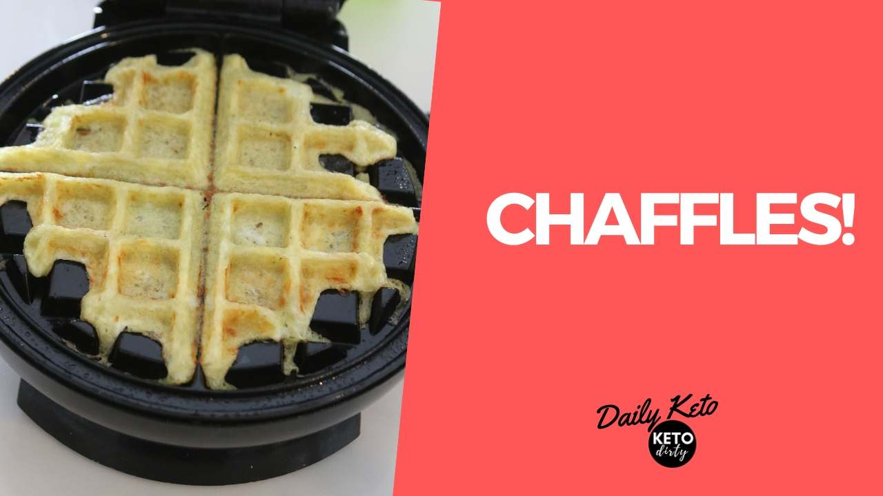 chaffle recipe low carb keto waffle