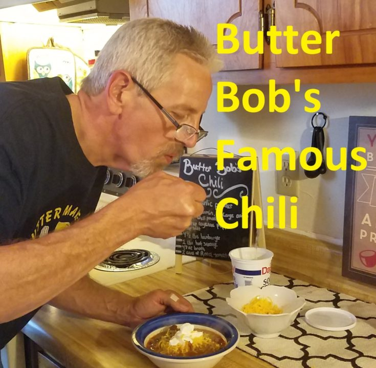 Butter Bob's Famous Chili