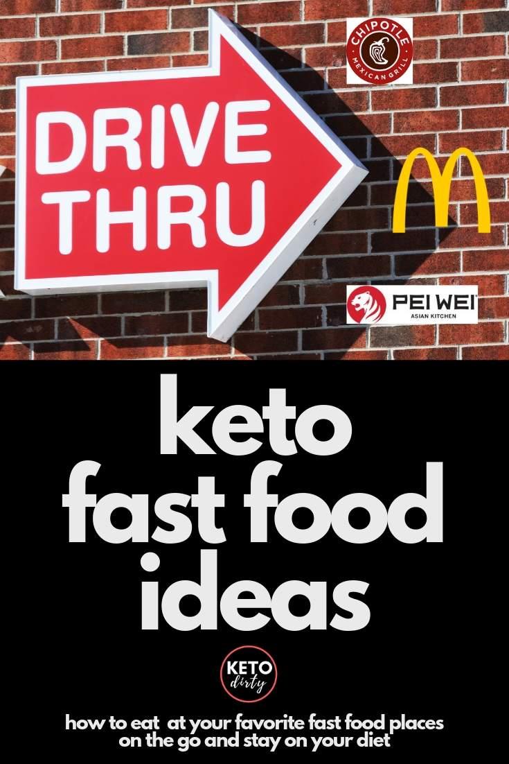 keto diet fast food ideas