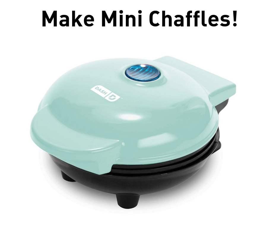 mini chaffle waffle maker
