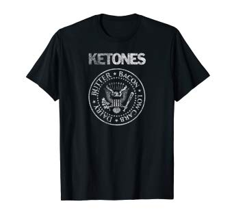 Ketones Keto Diet Rock and Roll T-Shirt