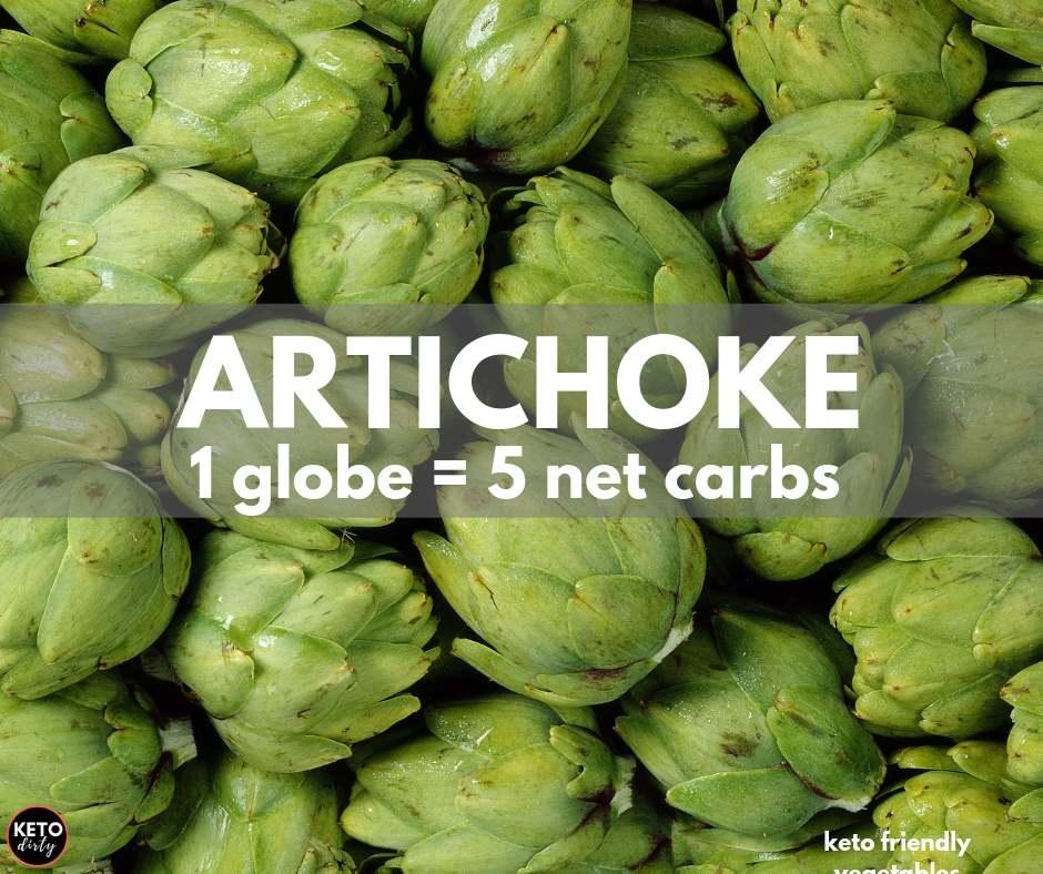 artichoke globe 5 net carbs
