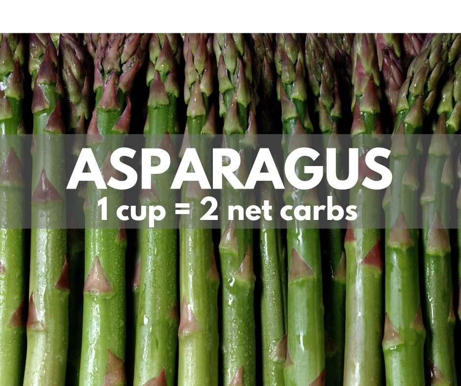 keto asparagus 2 net carbs