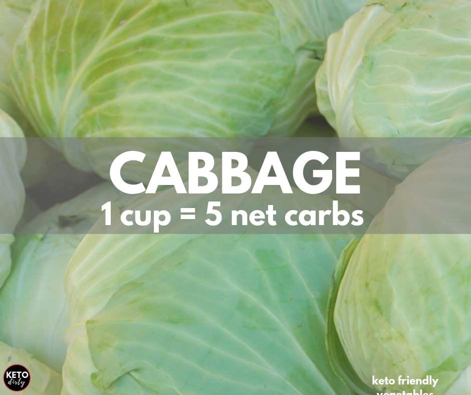 cabbage 5 net carbs