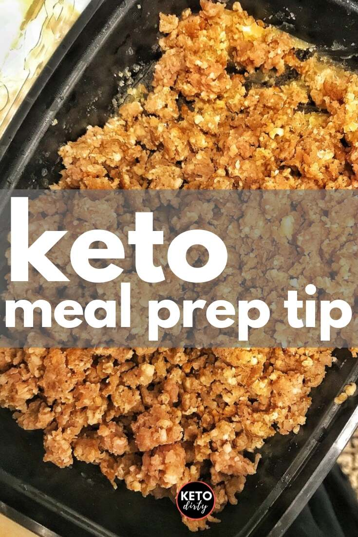 keto meal prep cook sausage ahead for keto diet