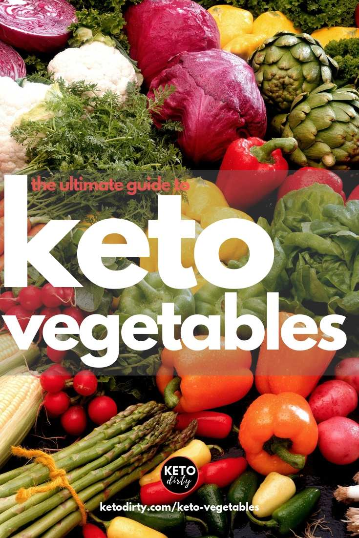keto vegetables - what low carb veggies can be eaten on the keto diet