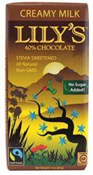 Lily's Creamy Milk Chocolate Bar with Stevia