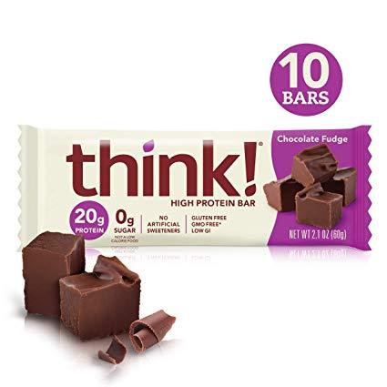 Think! Chocolate Fudge Protein Bar