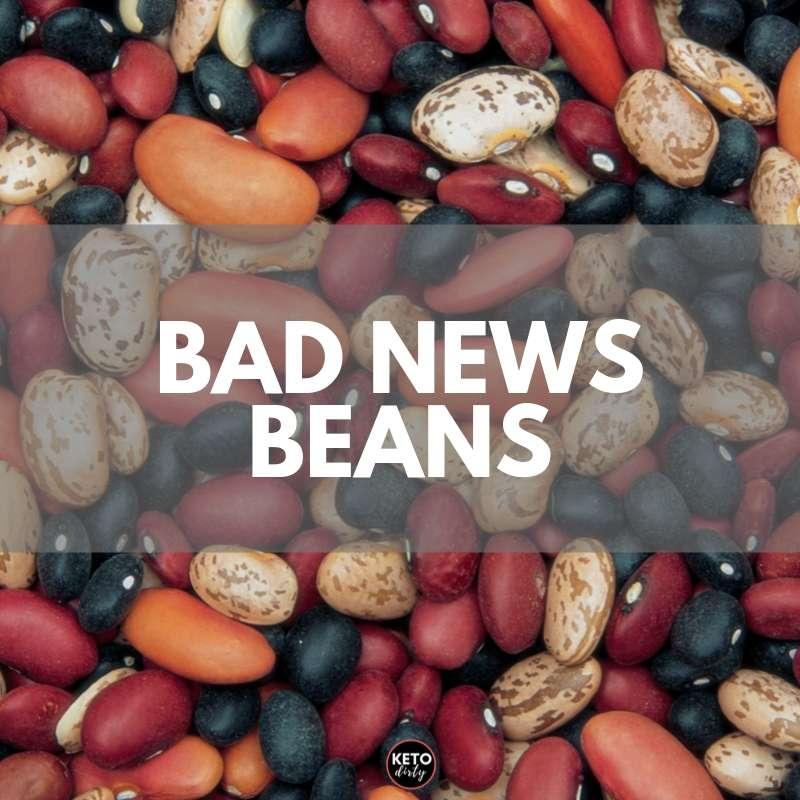 bad news beans on keto