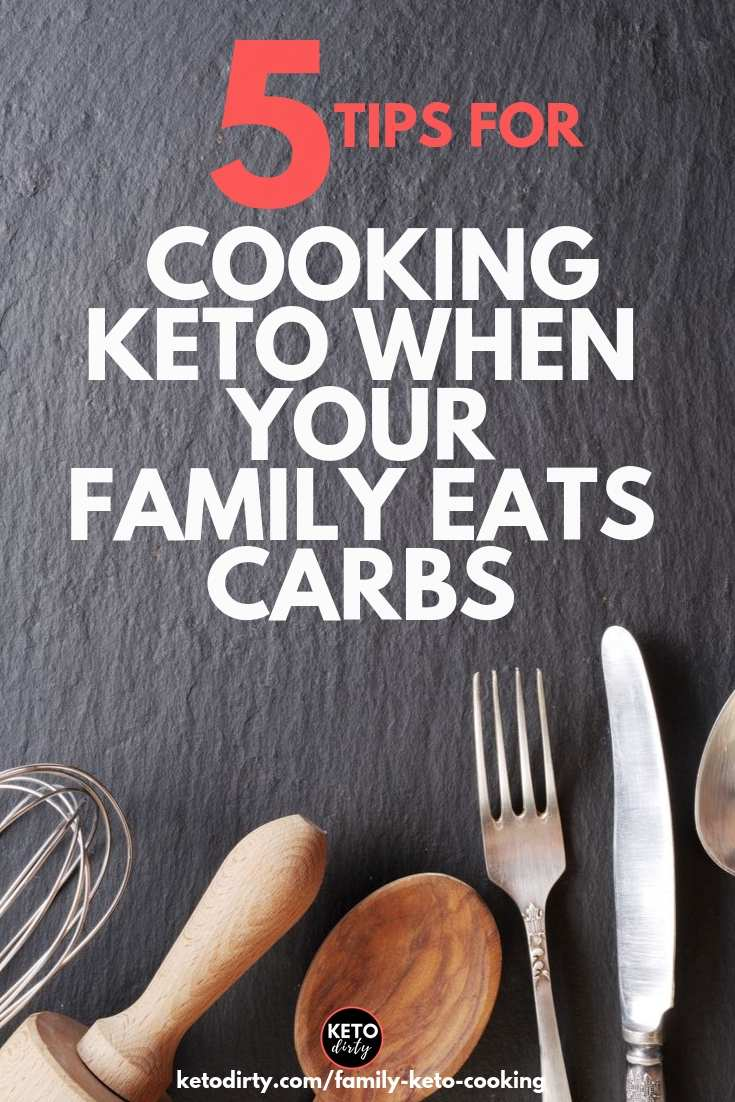 family keto cooking tips