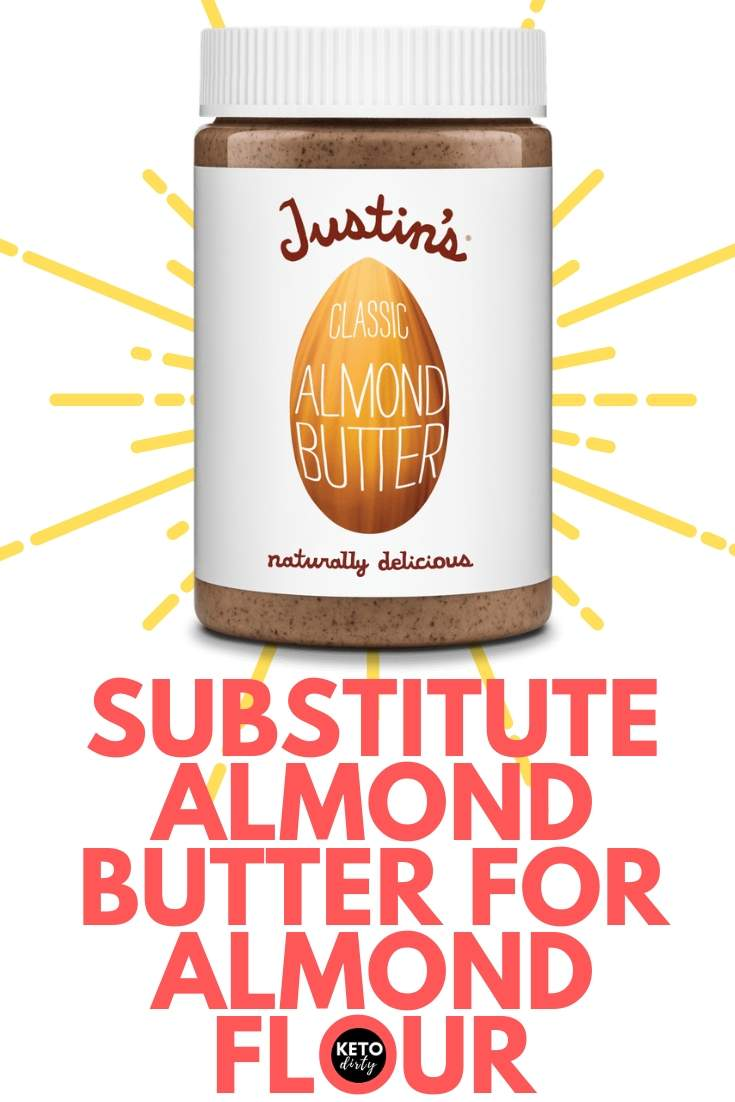 almond flour substitute for almond butter keto recipes