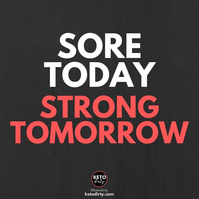 funny fitness quotes -sore today strong tomorrow
