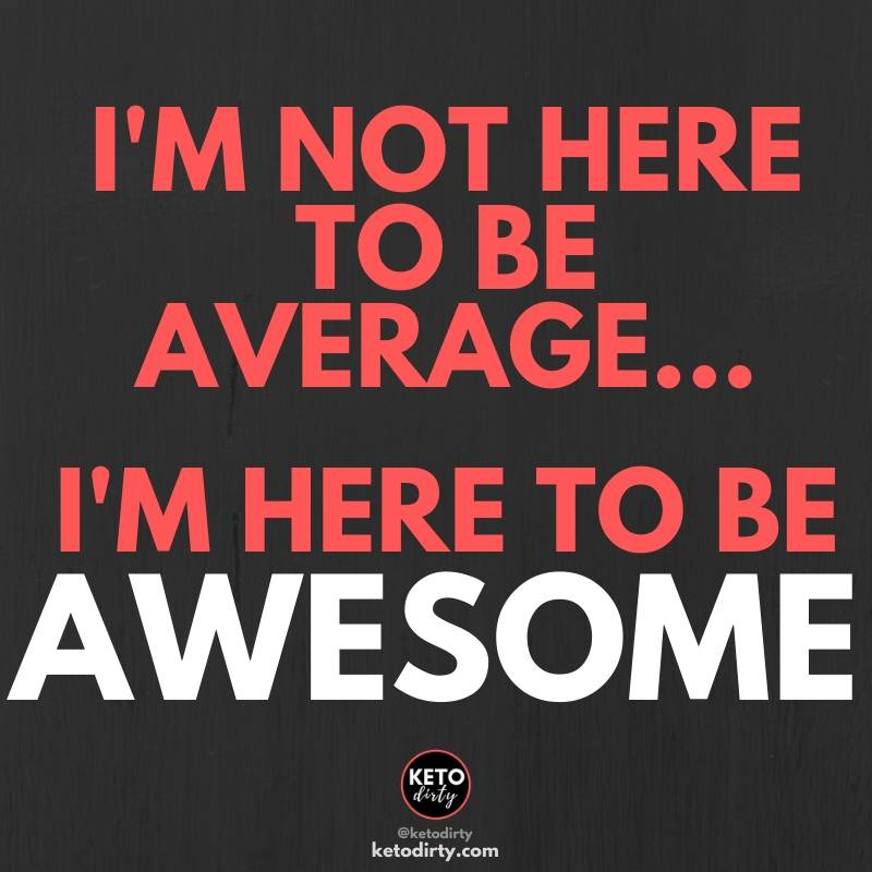 gym quotes - i am not here to be average