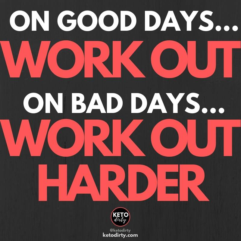 gym quotes - on good days workout