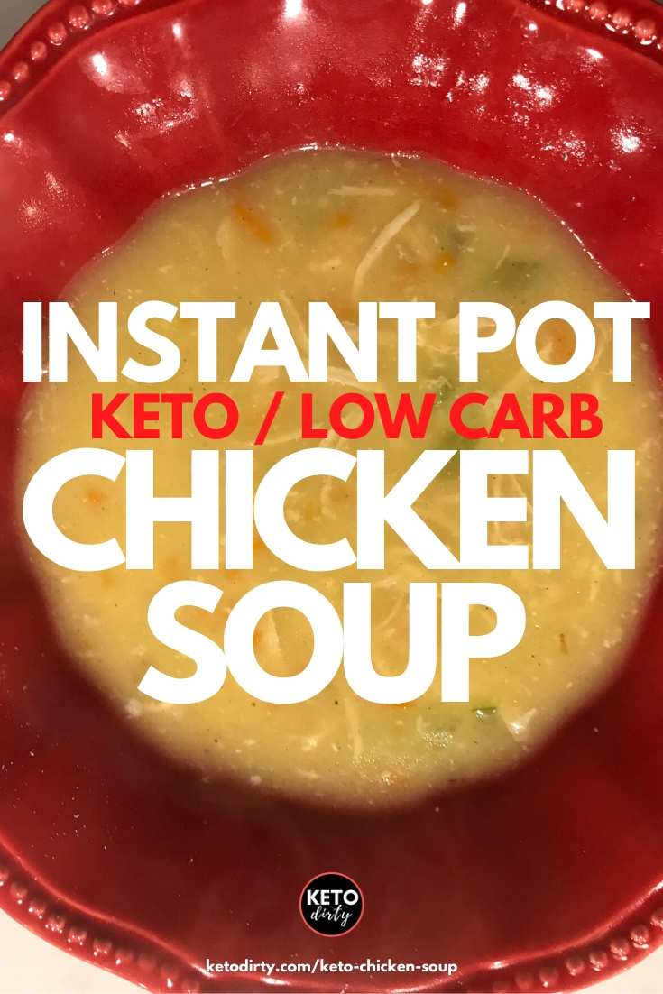 instant pot keto chicken soup