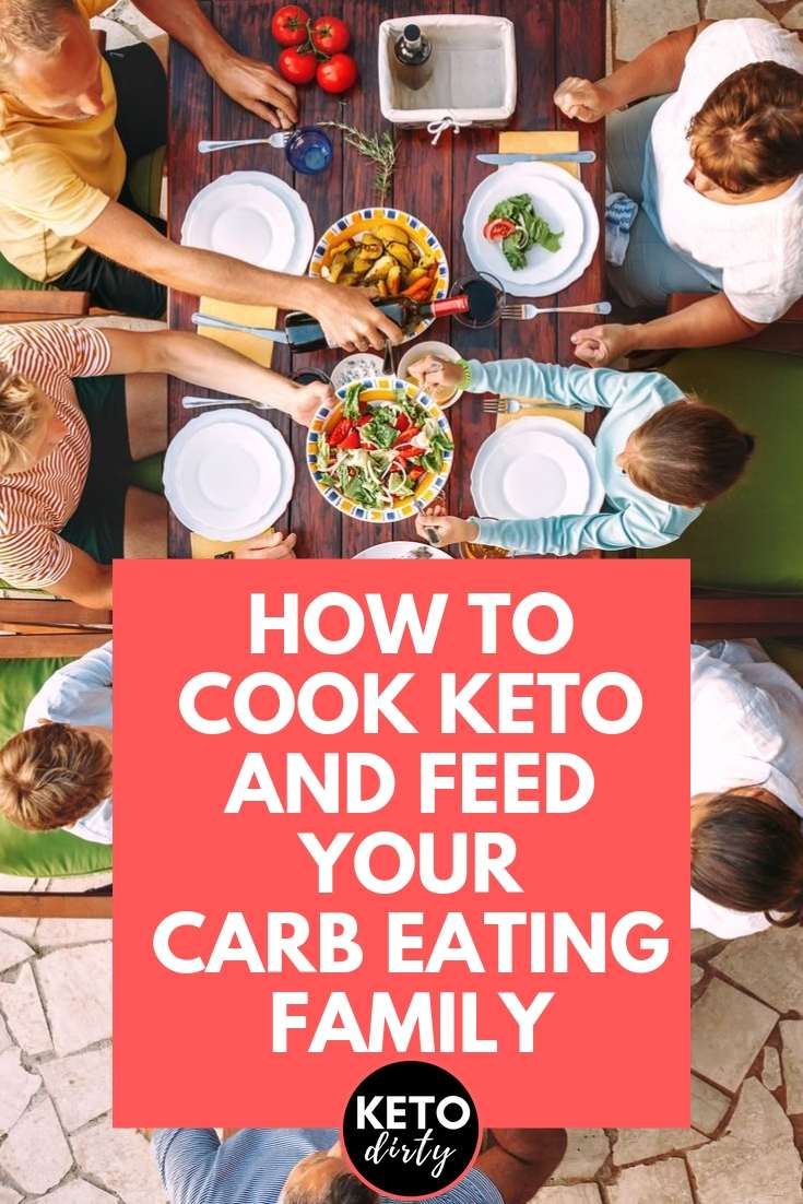 keto cooking for carb family
