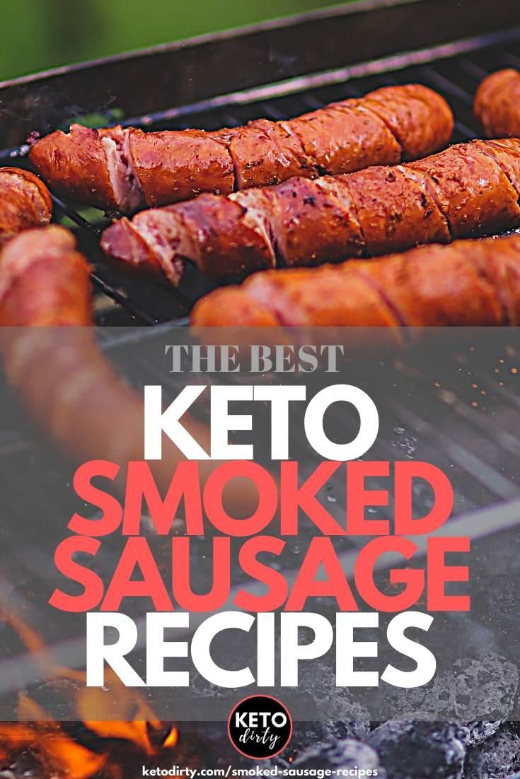 keto smoked sausage recipes
