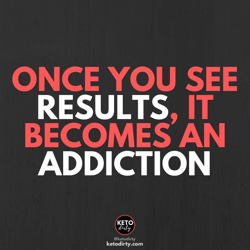 once your see results - fitness quote