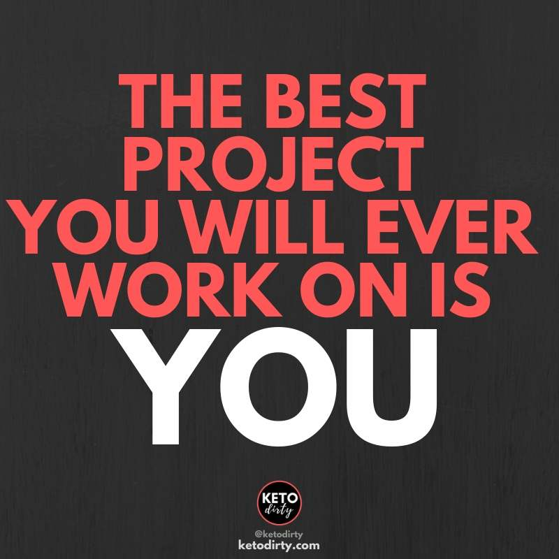 workout quote - the best project you will ever work on is you