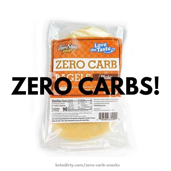 zero carb bagels