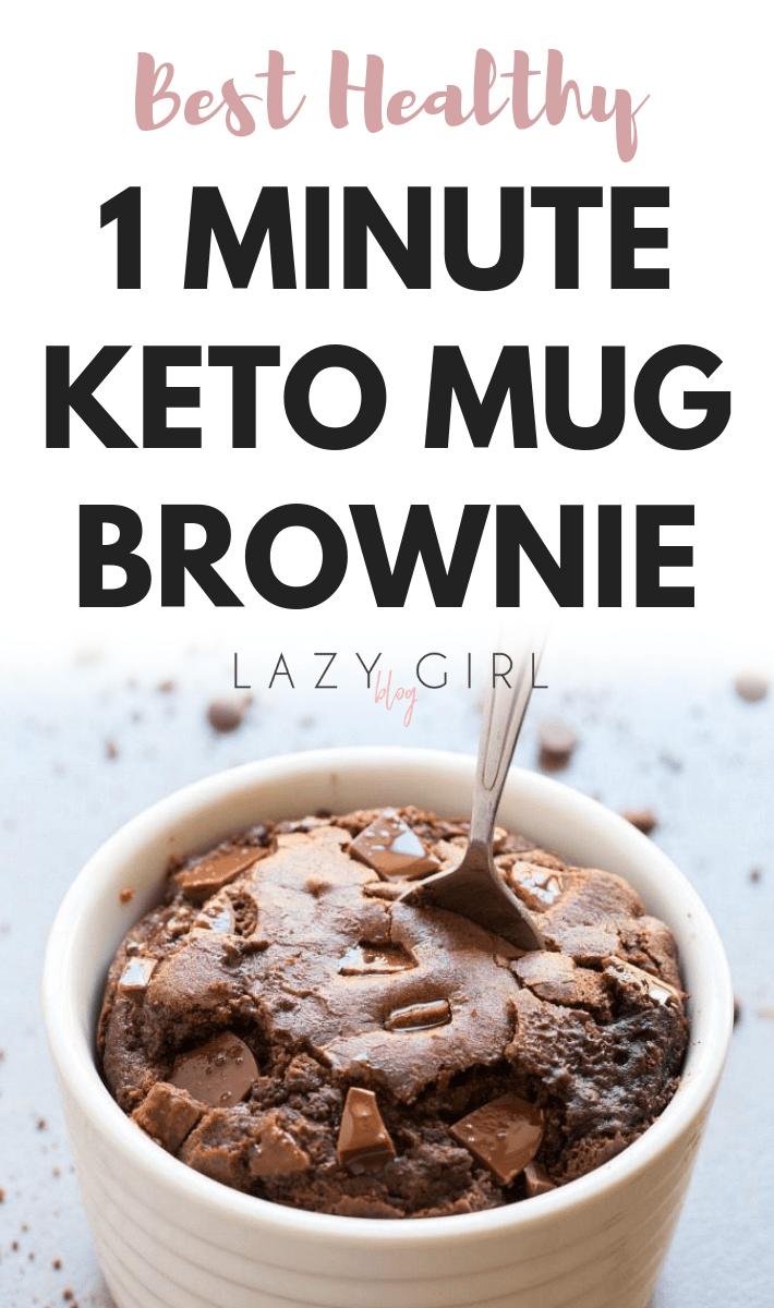 1 Minute Keto Mug Brownie