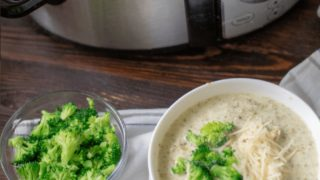 Chicken Broccoli Alfredo Soup