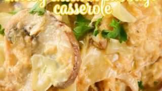 Crock Pot Cheesy Chicken Cabbage Casserole