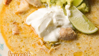 Crock Pot Chicken Chile Verde Low Carb Recipe