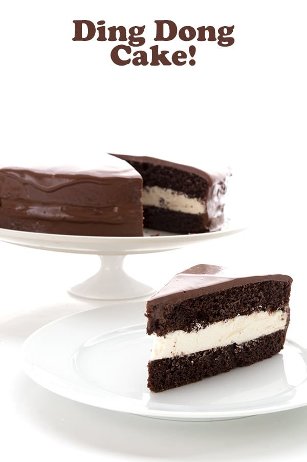 Ding Dong Cake - Low Carb Cake Recipe